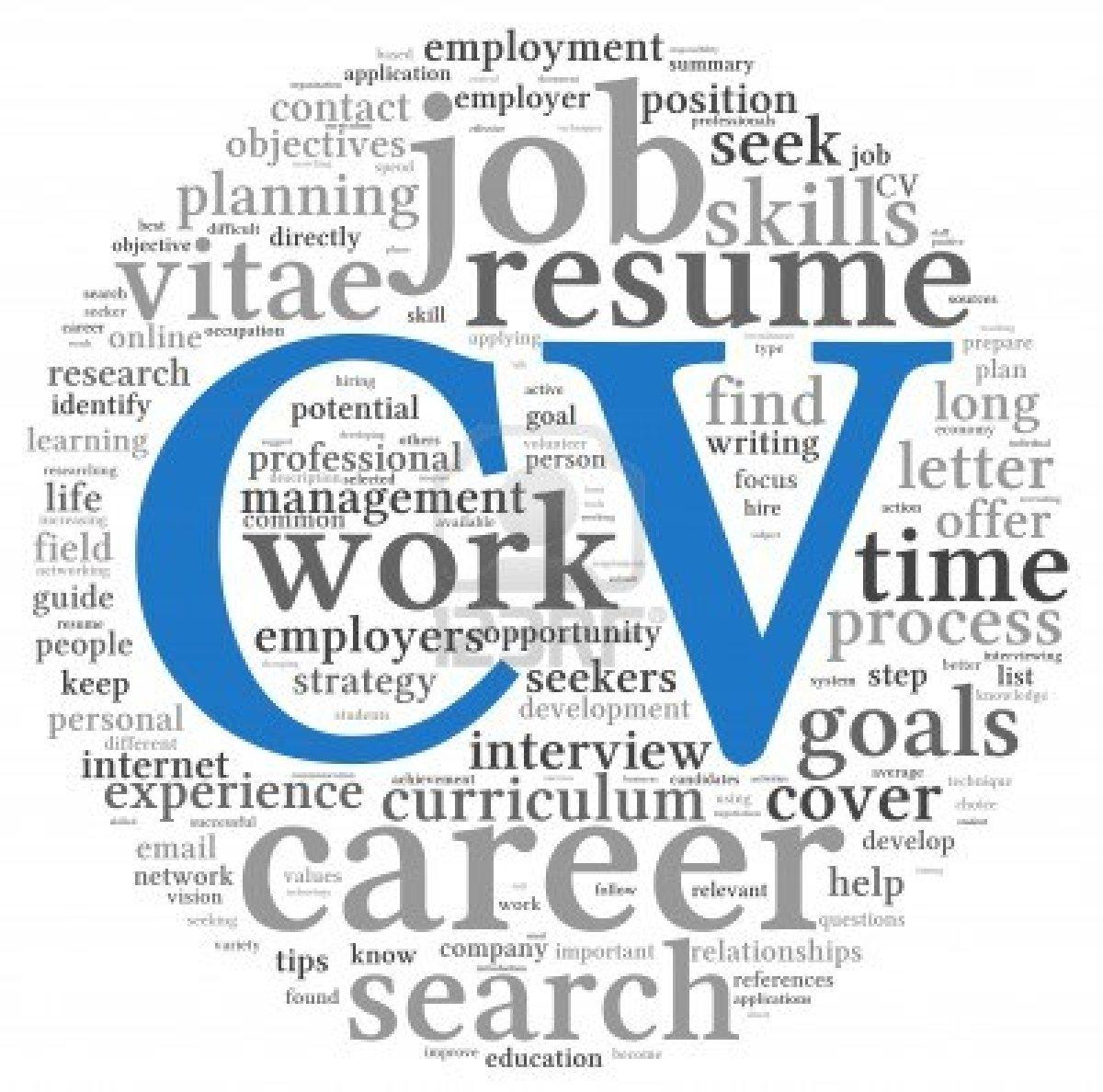CV wordle Phân biệt CV và Resume cho hồ sơ xin học bổng du học