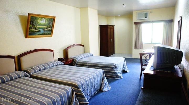 Phòng ở 3 người dành cho học viên tại Pines