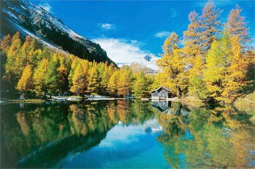 Thụy Sĩ nổi tiếng với ngành du lịch khách sạn (Ảnh. Internet)