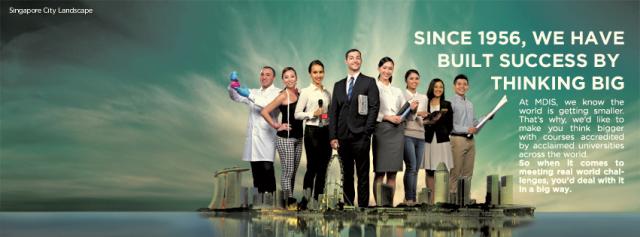 Học bổng gần 100 triệu VND dành cho học sinh chuyển tiếp năm cuối tại MDIS Singapore