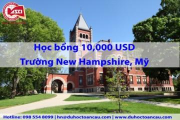du-hoc-my-tai-New Hampshire