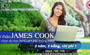 """Hội thảo """"James Cook – lựa chọn du học Singapore thông minh"""""""