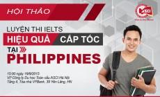 """Hội thảo """"Luyện thi IELTS hiệu quả, cấp tốc tại Philippines"""""""