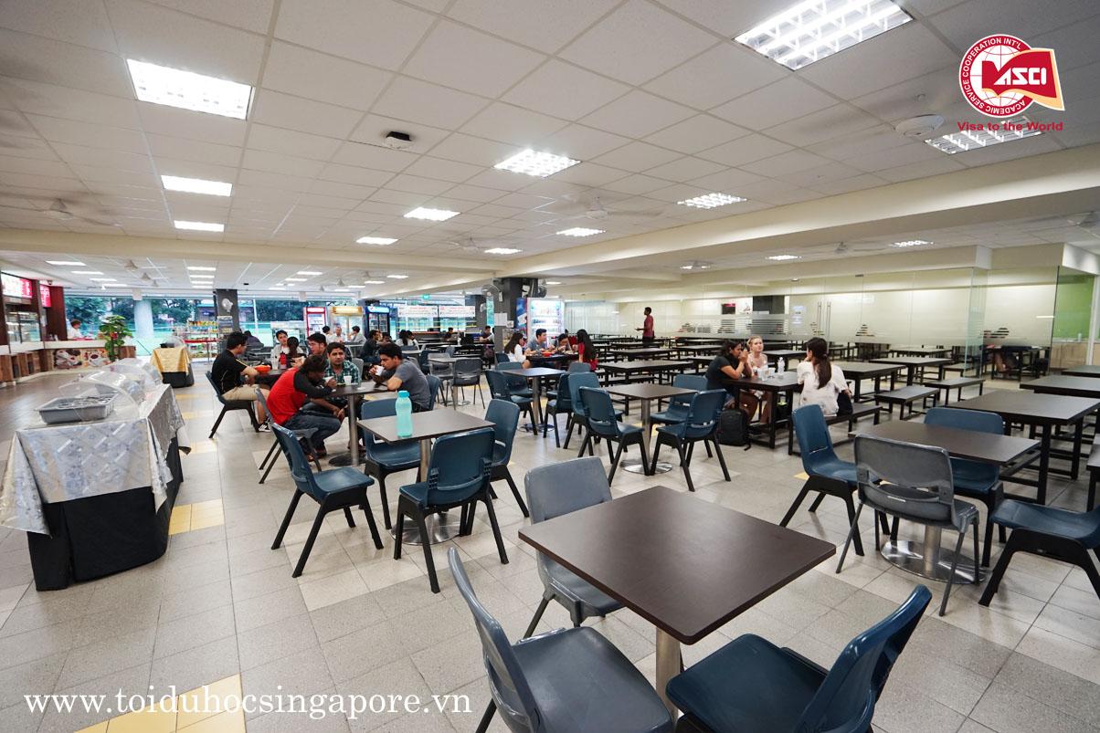Nhà ăn sinh viên Đại học James Cook, Singapore
