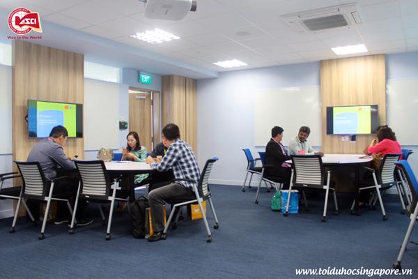 Phòng Apple Room, Đại học James Cook, Singapore