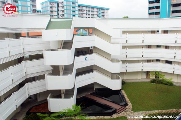 Tòa nhà C, Đại học James Cook, Singapore