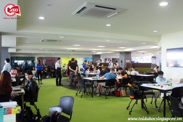 Phòng tự học tại Đại học James Cook, Singapore Phòng tự học tại Đại học James Cook, Singapore