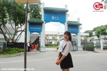 Cổng trường Đại học James Cook, Singapore