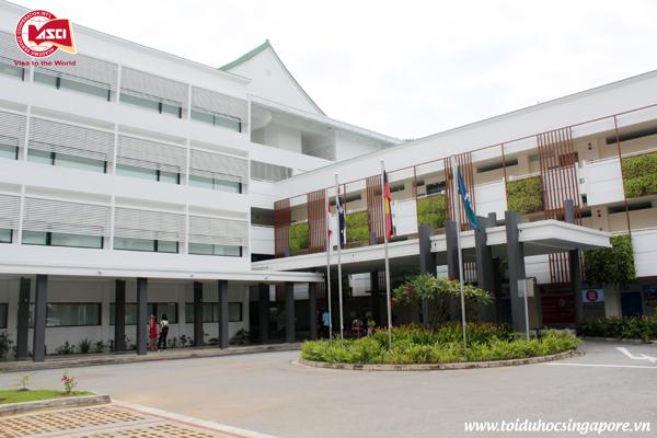 Tòa nhà A, Đại học James Cook, Singapore