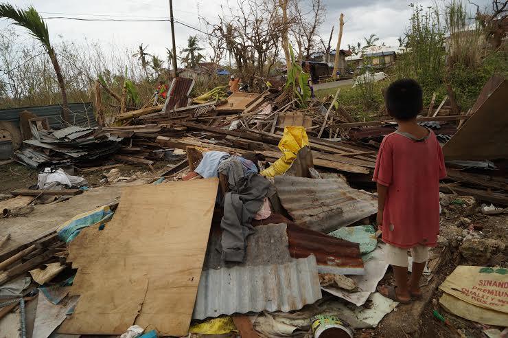 bão Haiyan, biển Đông, Philippines