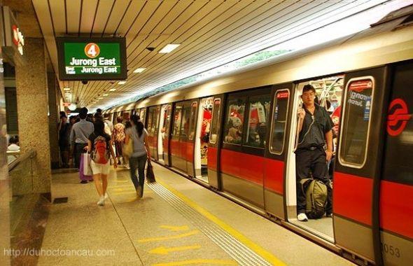 Hướng dẫn đi tầu điện ngầm MRT