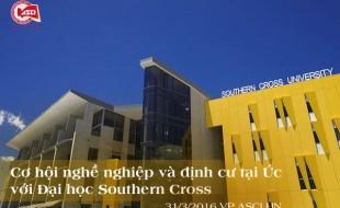 Cơ hội nghề nghiệp và định cư tại Úc với Đại học Southern Cross