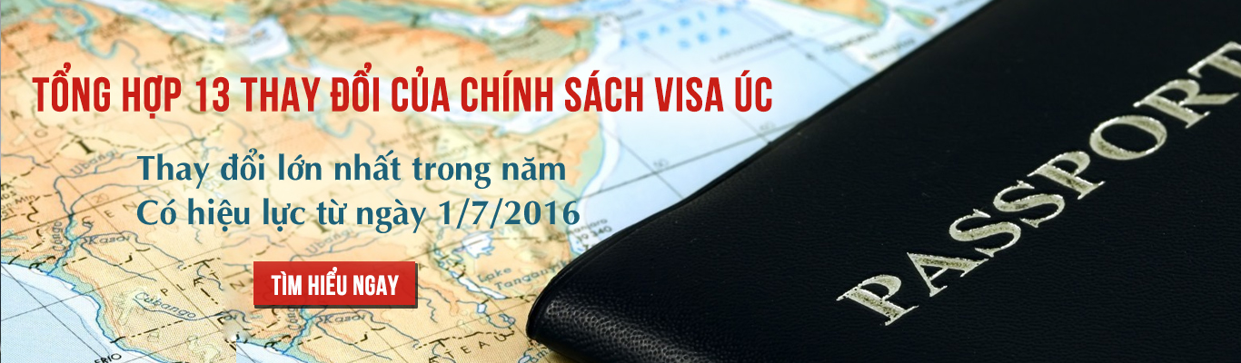 Những thay đổi chính sách visa úc