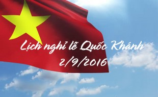 Du học toàn cầu ASCI thông báo nghỉ Lễ Quốc khánh 2/9/2016