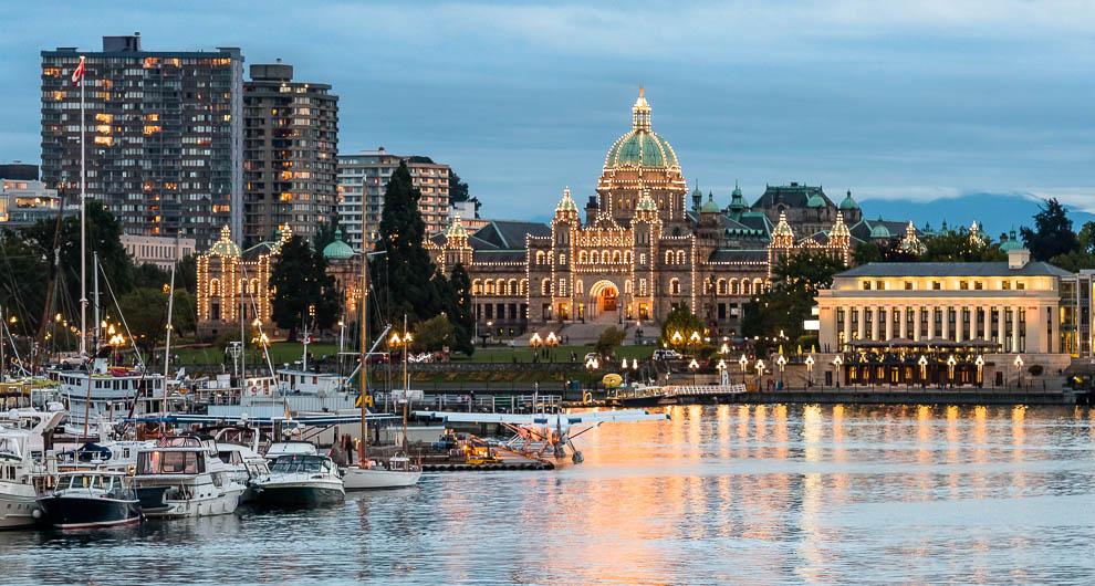 Thành phố Victoria xinh đẹp tại tỉnh bang British Columbia