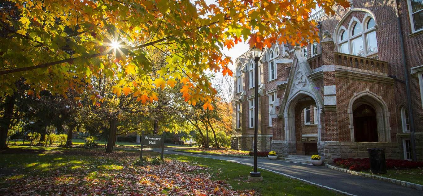 Khung cảnh thơ mộng tại Drew University