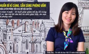 Luyện phỏng vấn visa du học Mỹ