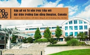 Du học Canada: Gặp gỡ đại diện trường Cao đẳng Douglas, Canada