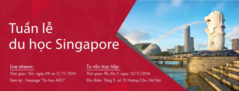 Tuan le du hoc Singapore - Cong ty ASCI