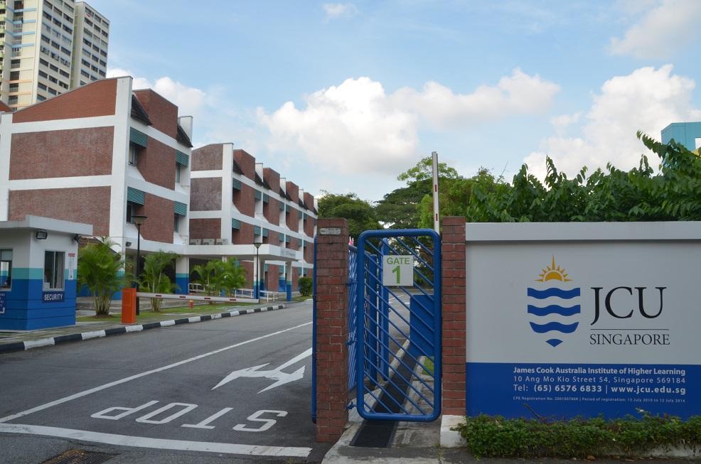 truong dai hoc JCU Singapore