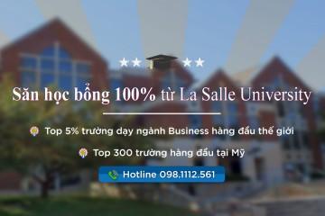 la salle university scholarship