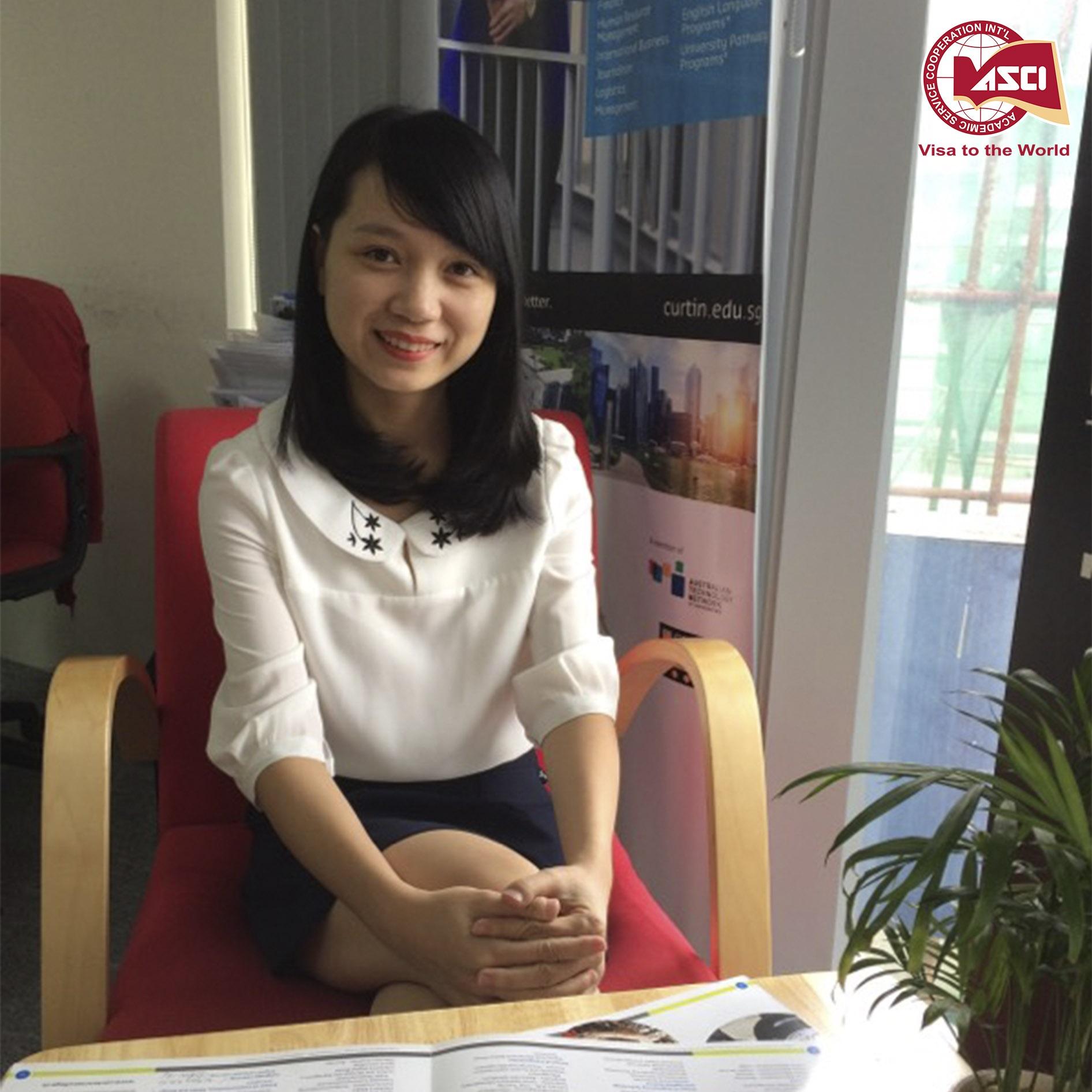 Chi Hoai - tu van du hoc My