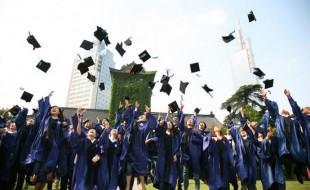 Sinh viên trong lễ tốt nghiệp tại Đại học Nam Kinh - một trong những trường đại học lớn tại Trung Quốc