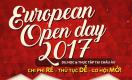 Không bỏ lỡ cơ hội du học Châu Âu Rẻ – Dễ – Mở tại European Open Day 2017