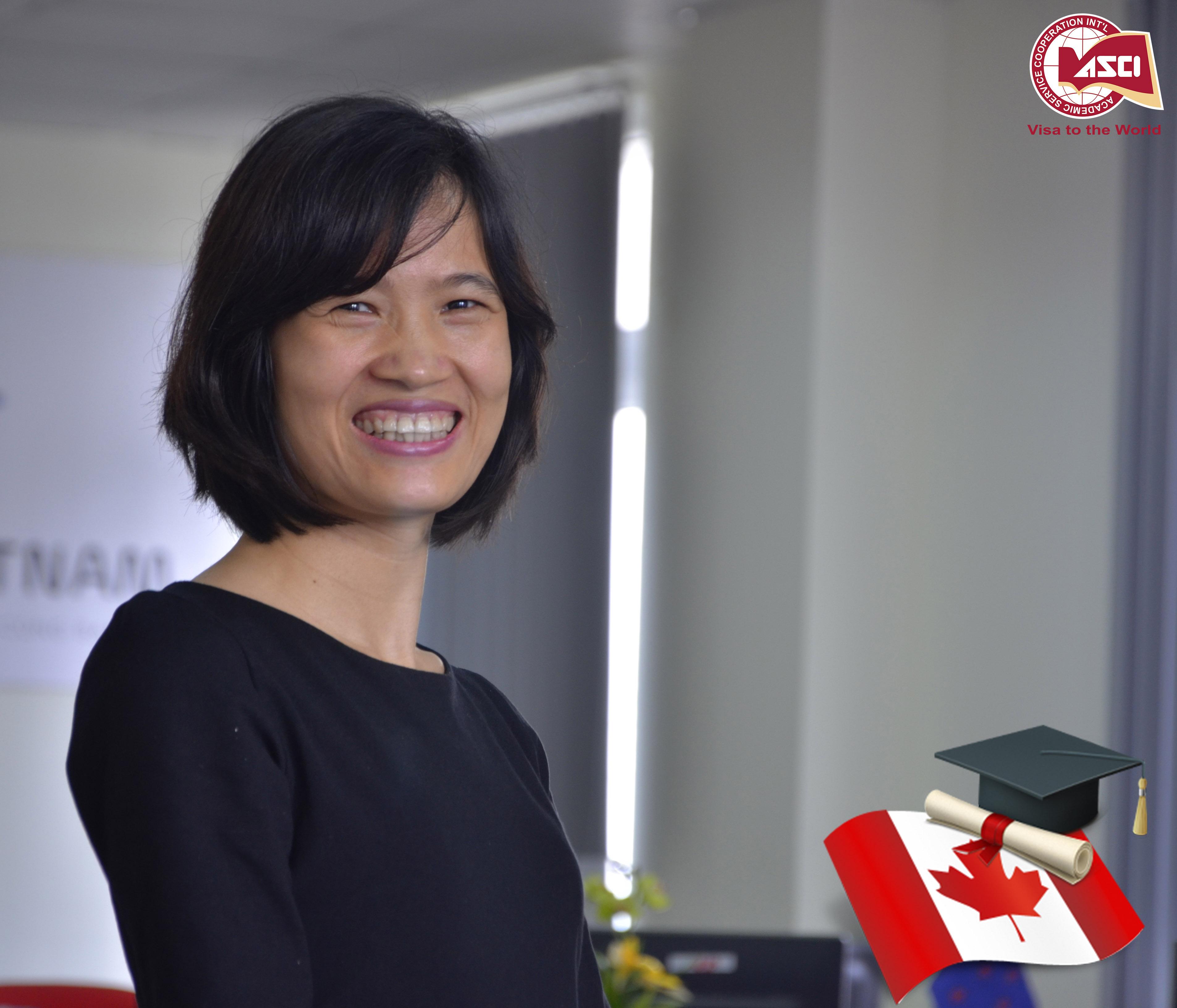 Chị Bích Ngọc – Chuyên gia giáo dục Canada với hơn 15 năm kinh nghiệm trong ngành tư vấn du học