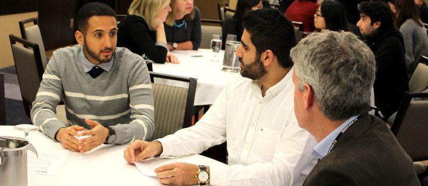 Các sinh viên quốc tế tham dự buổi tọa đàm đánh giá cao những lợi ích khi du học Canada
