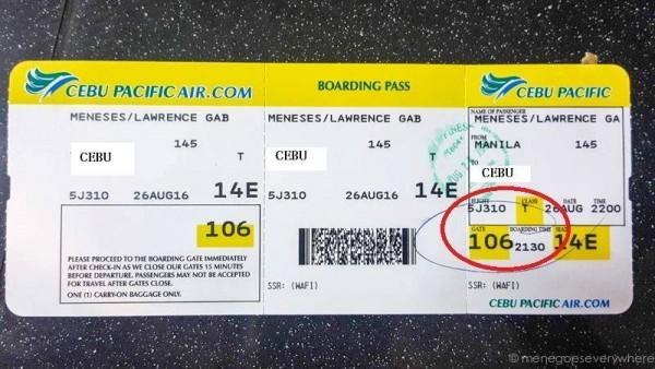Thẻ lên máy bay cũng được kiểm tra rất kỹ càng