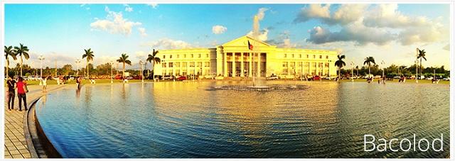 Quang cảnh thành phố Bacolod vô cùng bình yên