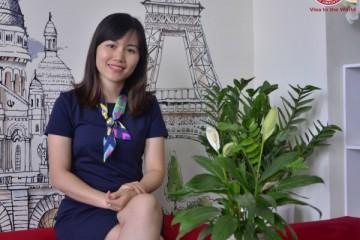 Chị Trần Thu - Quản lý chương trình Philippines, Công ty du học toàn cầu ASCI