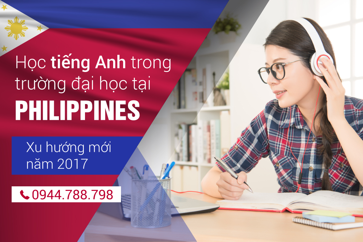 hoc tieng anh tai philippines