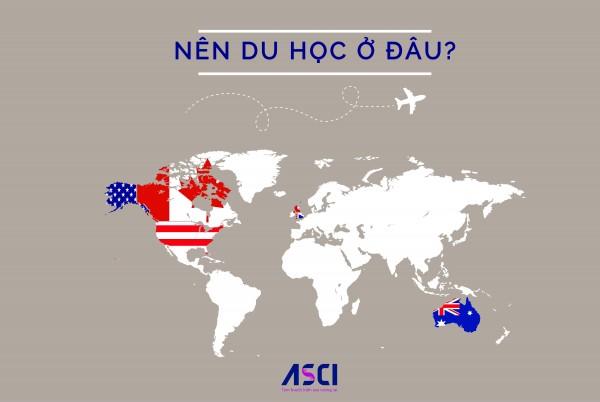 Canada, Mỹ, Anh, Úc - Đâu là địa điểm du học tối ưu?