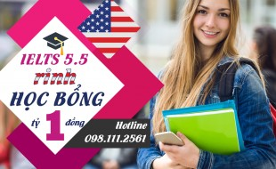 """Hội thảo """"Du học Mỹ: IELTS 5.5 """"rinh"""" học bổng 1 tỷ đồng"""""""