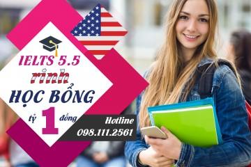 Hội thảo Du học Mỹ IELTS 5.5