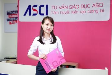 chi ho thu hoai - quan ly chuong trinh du hoc my ASCI
