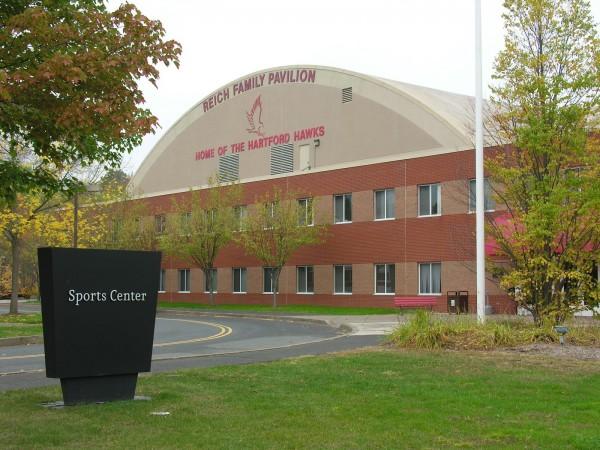 Trung tâm thể thao của các sinh viên UHart sau những giờ học căng thẳng