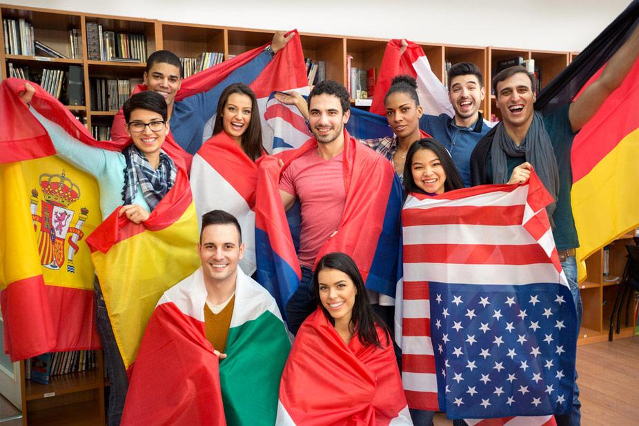 California, New York và Texas là 3 bang được học sinh quốc tế lựa chọn nhiều nhất.