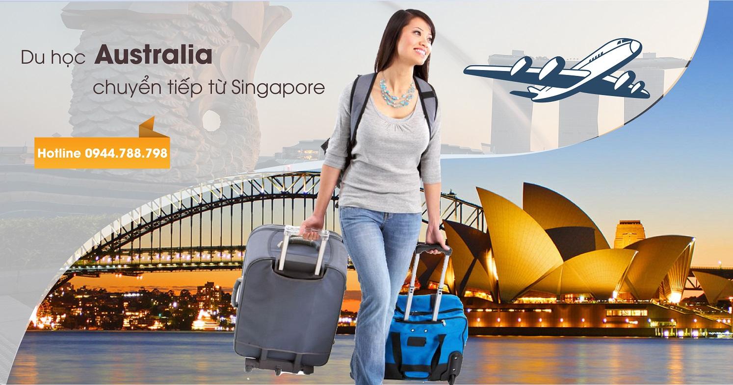 Bạn sẽ có cơ hội chuyển tiếp sang Australia từ Đại học Curtin Singapore
