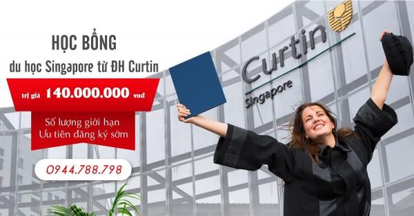 Bạn đang có cơ hội nhận học bổng du học Singapore lên tới 140 triệu VNĐ từ Đại học Curtin