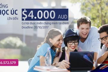 Chắp cánh du học Úc với học bổng lên đến $4.000 AUD cùng Tập đoàn Giáo dục Navitas