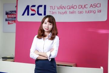 Chị Nga Nguyễn - Chuyên gia tư vấn du học Hàn Quốc, Công ty Tư vấn Giáo dục ASCI