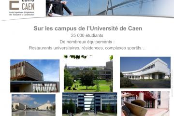 Chỉ với trình độ B1, bạn đã có thể du học Pháp ngành Xây dựng tại trường ESITIC Caen
