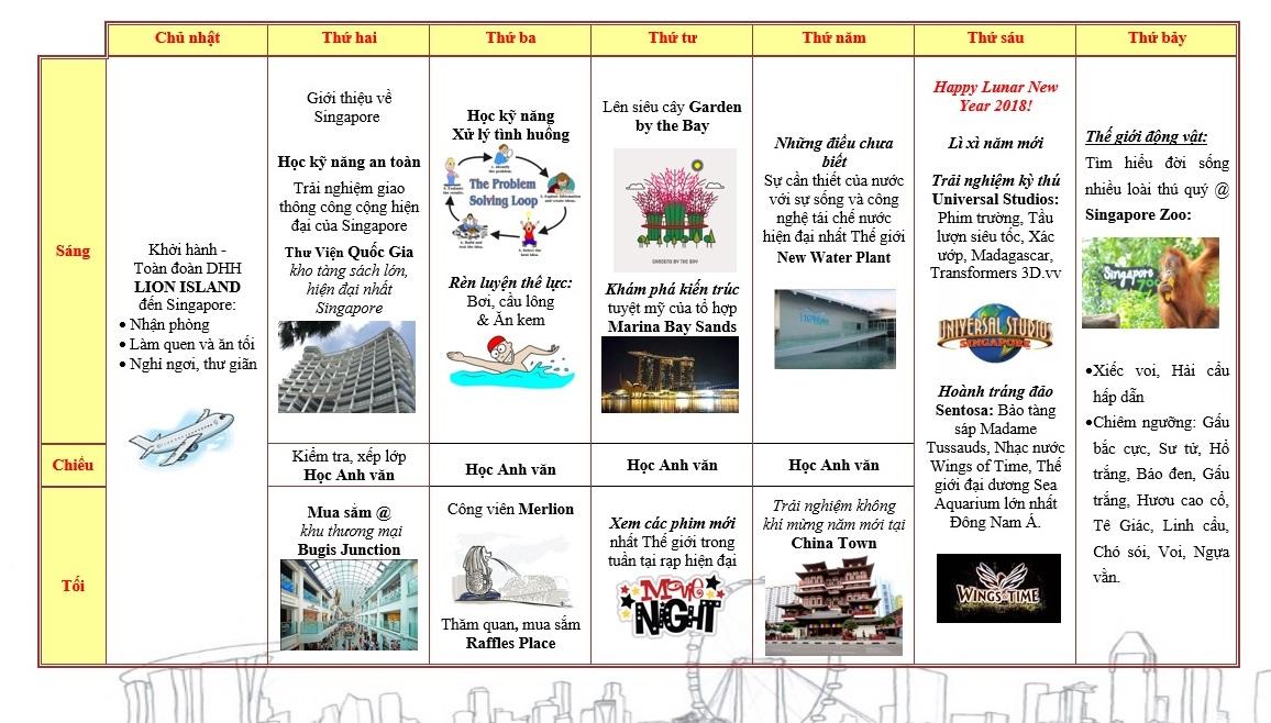 du hoc Tet Singapore