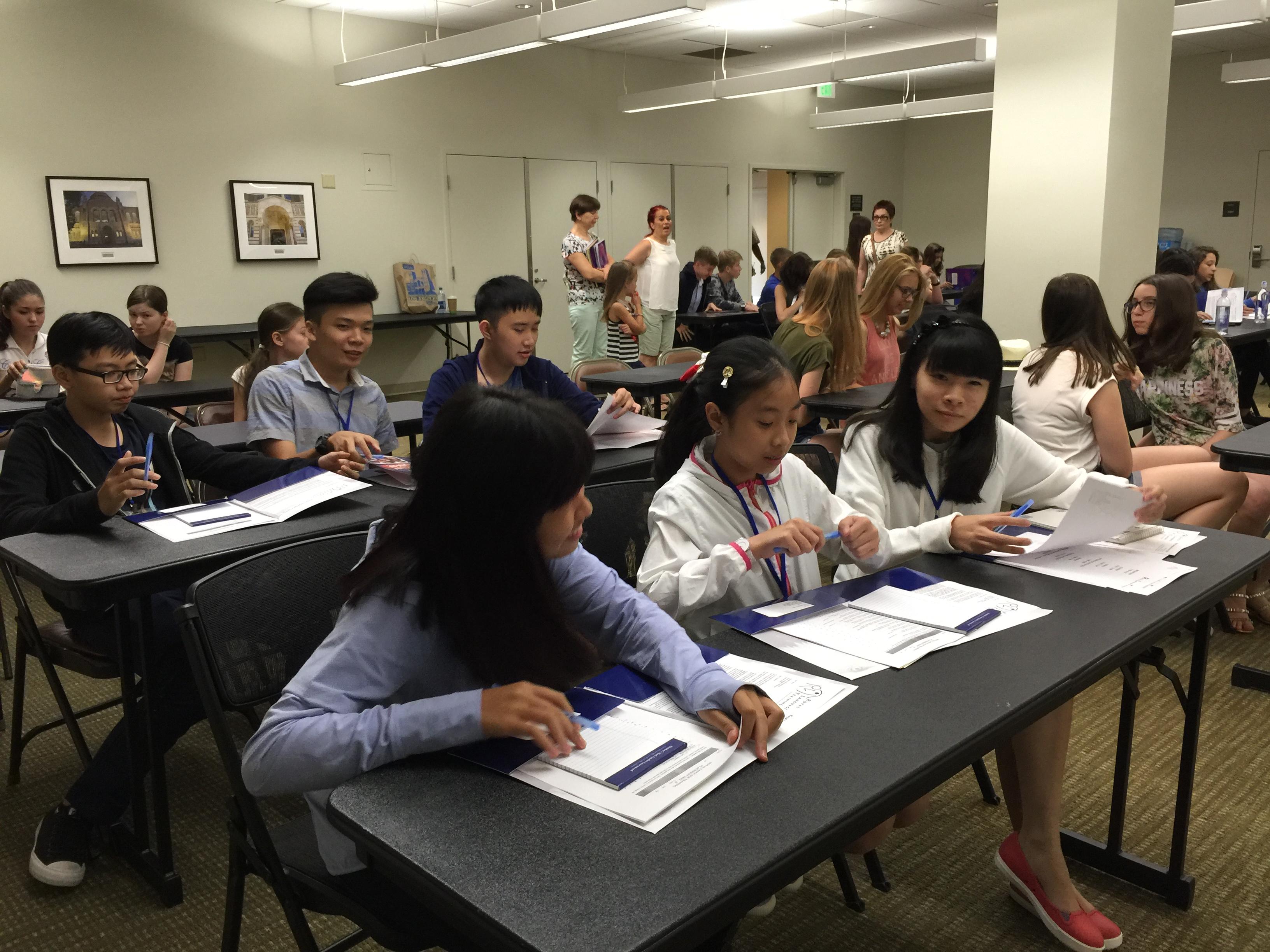Các bạn học sinh có cơ hội học tại ngôi trường Anh ngữ danh tiếng