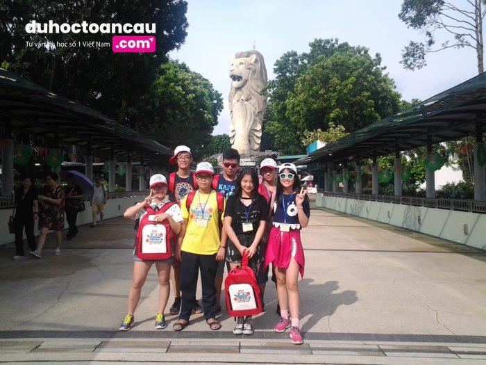 Singapore - một trong những điểm đến yêu thích đối với các học sinh tham gia chương trình du học hè của <strong>duhoctoancau.com</strong> Group
