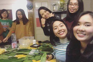 Không khí đón Tết ấm áp của du học sinh Việt Nam tại Pháp