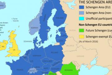 """Hỏi – đáp về visa Schengen – Tấm vé """"thần thánh"""" để đi du học châu Âu"""
